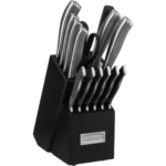 Cuisinart C77SS-15P Graphix Collection 15-Piece Cutlery Knife Block Set